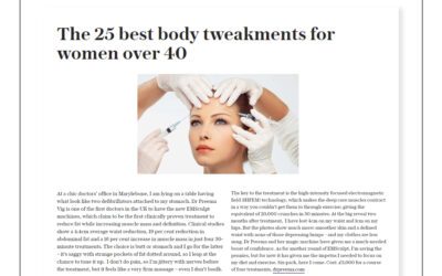 The Telegraph – The 25 best body tweakments for women over 40