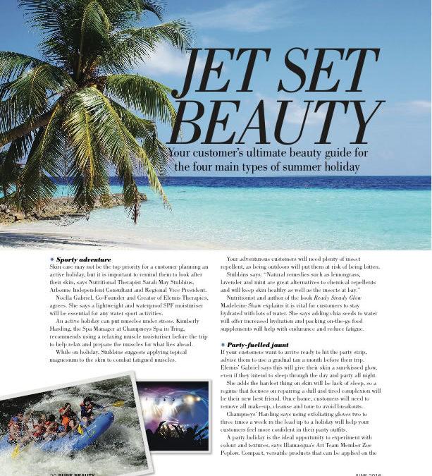 Jet Set beauty – Pure Beauty Mag