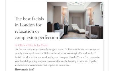 Marie Claire – The best London facials
