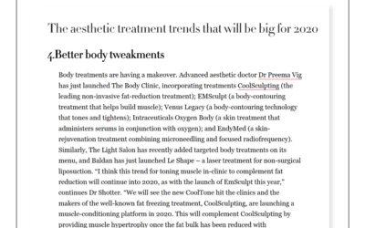 Harpers Bazaar – Better body tweakments