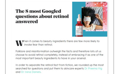 Stylist – The 8 most googled questions about retinol answered